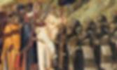 Saint Albert Presents the Rule of Carmel (cropped), by Pietro Lorenzetti