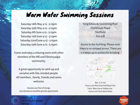 Warm water swimming is back!