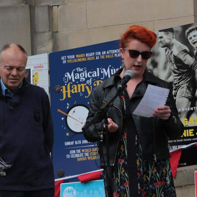 Louise Haigh MP with Clive Betts MP