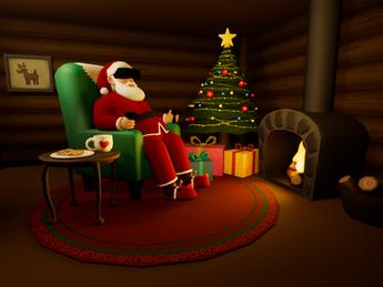 Exclusive Santa Claus Interview w. SiliconHagen