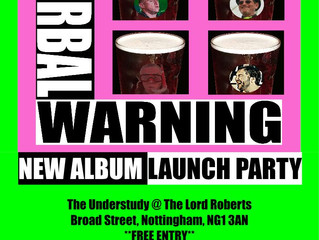 CDs here - don't miss the launch party!