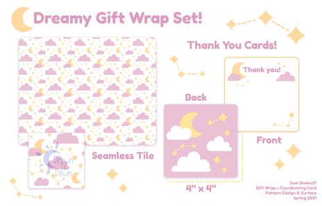 Dreamy Gift Wrap Set