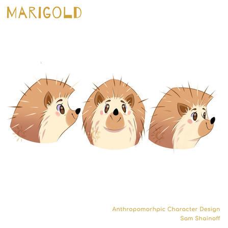 Marigold: Head Turnaround