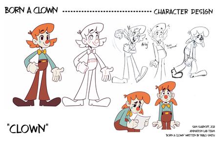 Born a Clown: Character Design