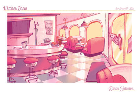 Witches Brew: Interior Environment