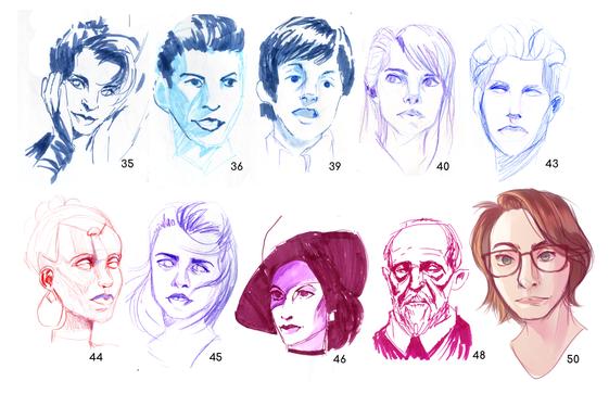 Quickfire Faces (Set 3)