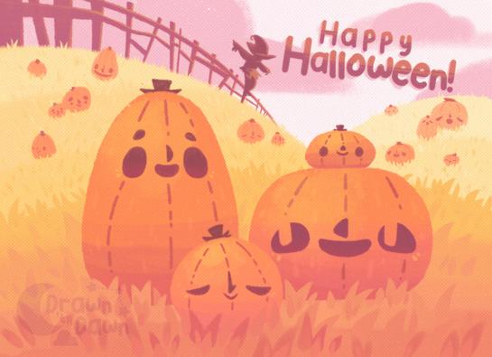 Halloween Postcard - 2021