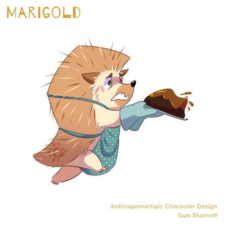 Marigold: Action Pose