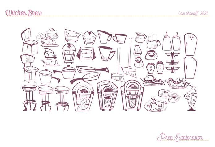 Witches Brew: Prop Sheet Exploration