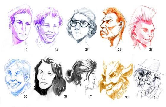 Quickfire Faces (Set 2)