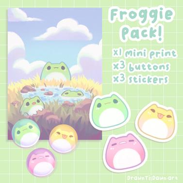 Froggie Merch Pack