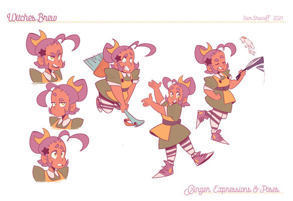 Witches Brew: Character Pose + Expression