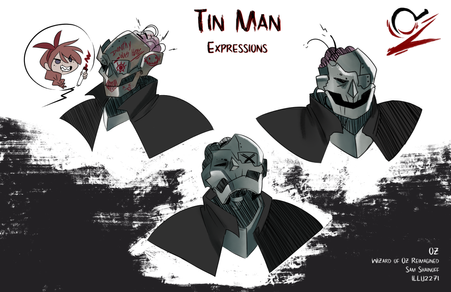 Oz: Tinman expression sheet