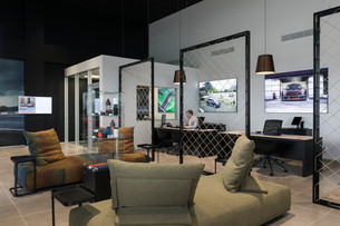 Mini Garage Customer Lounge