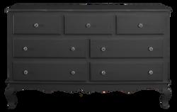 Hilary_7_drawer_black