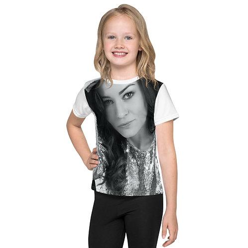 Kids crew Arina Mai neck t-shirt