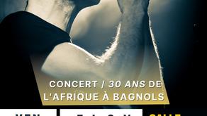 Concert : 30 ans de l'Afrique à Bagnols avec FLOX !