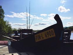 River boat - Tenon jokivene