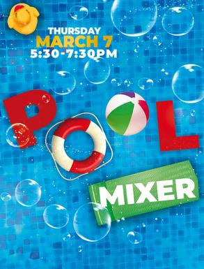 Pool Mixer Flyer
