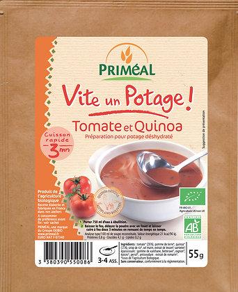 potage tomates et quinoa, 55 gr