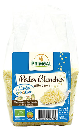 perles blanches, 500 gr