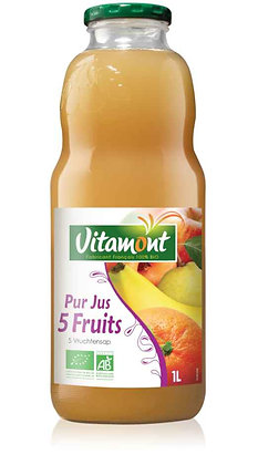 PUR JUS 5 FRUITS 1 l