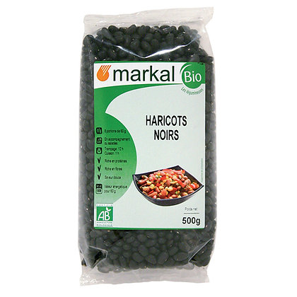 HARICOTS NOIRS, 500 g
