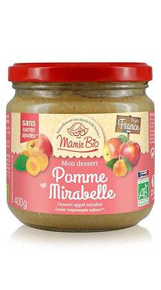 COMPOTE pomme - mirabelle  400 gr