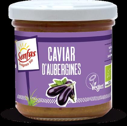CAVIAR D'AUBERGINES 135 gr