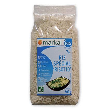 RIZ LONG BLANC SPÉCIAL RISOTTO, 500 g