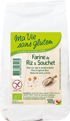 FARINE DE RIZ & SOUCHET 500 gr