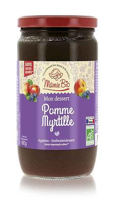 COMPOTE POMME - MYRTILLE 680 gr