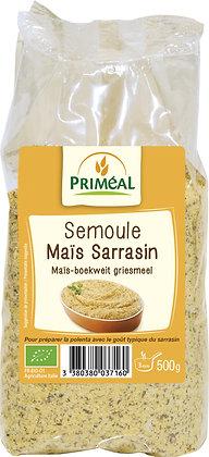 semoule maïs sarrasin, 500 gr