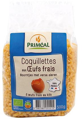 coquillettes aux oeufs frais 100% France, 500 gr
