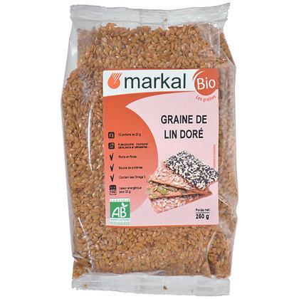 GRAINES DE LIN DORÉ, 250 g