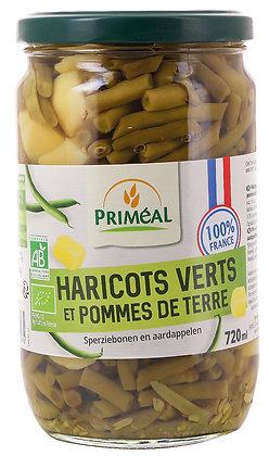 mélanges haricots verts pommes de terre France, 720 gr