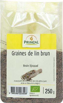 graine de lin brun, 250 gr