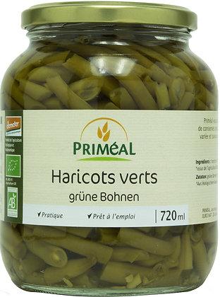 haricots verts, 720 gr