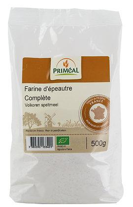 farine complète d'épeautre France, 500 gr