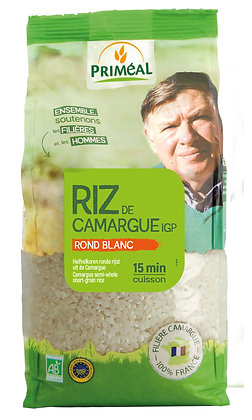 RIZ DE CAMARGUE rond & blanc 1 kg