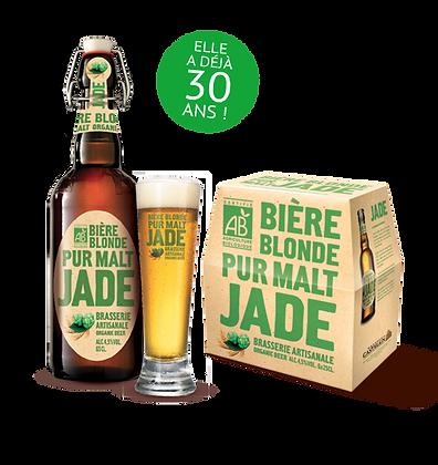 BIÈRE BLONDE PUR MALT, 65 cl