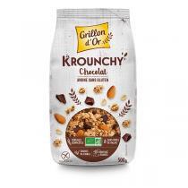 KROUNCHY CHOCOLAT AVOINE sans gluten, 500 g
