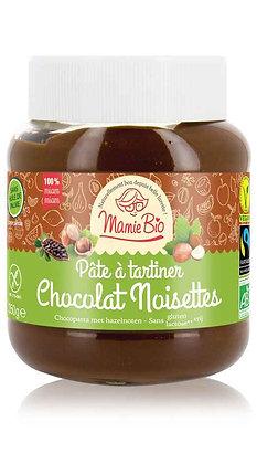 PÂTE A TARTINER chocolat - noisette (sans gluten & lactose) 350 gr