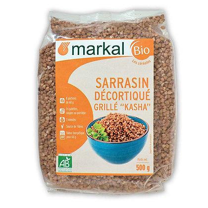 KASHA : SARRASIN DÉCORTIQUÉ GRILLÉ, 500 g