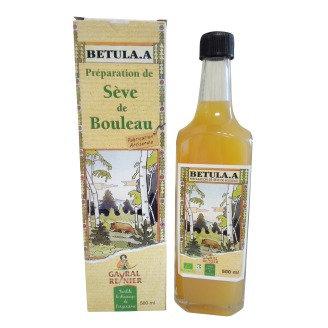 PREPARATION DE SEVE DE BOULEAU, 500 ml