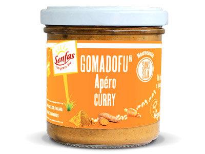 GOMADOFU APERO au curry 140 gr
