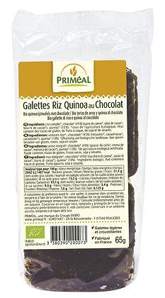 riz quinoa chocolat noir, 65 gr