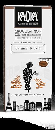 CHOCOLAT NOIR 72% CAFÉ CARAMEL GAMME GOURMET 1