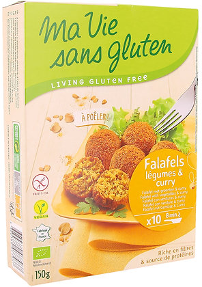 FALAFELS légumes & curry 150 gr