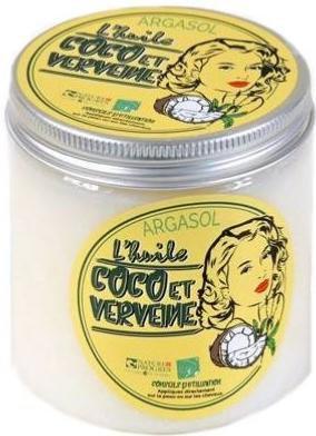 HUILE DE COCO/VERVEINE, 250 gr